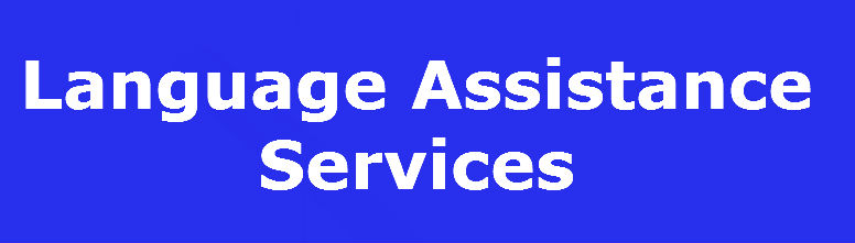 Label for Language Assistance Services
