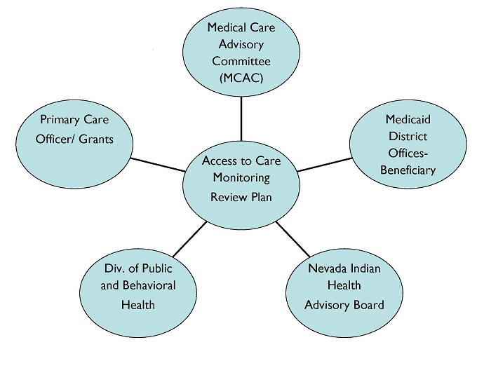 Access to Care Monitoring Review Plan graphic